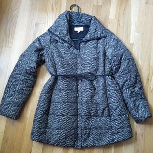 Jessica Simpson maternity winter jacket. Small